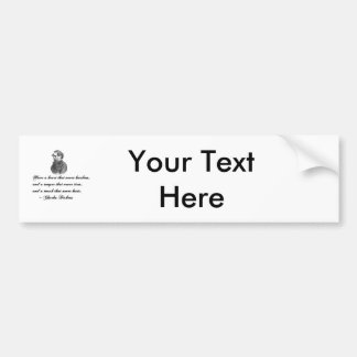 Charles Dickens Our Mutual Friend quote Bumper Sticker