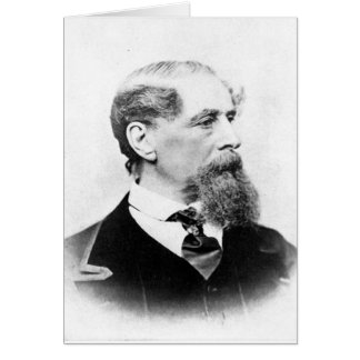 Charles Dickens Photo Card