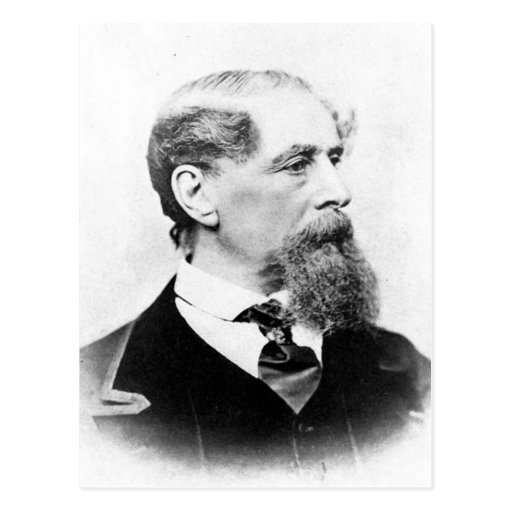 Charles Dickens Photo Post Cards