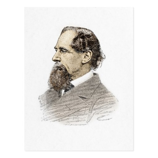 Charles Dickens Post Card