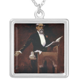Charles Dickens Silver Plated Necklace