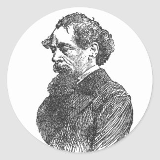 Charles Dickens Stickers