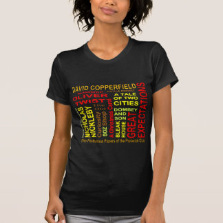 Charles Dickens Word Cloud T-Shirt