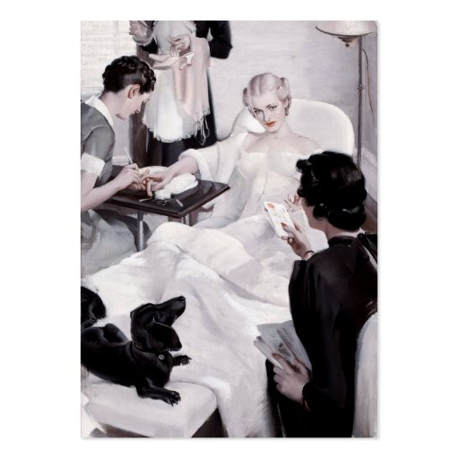 Charles Edward Chambers: Manicure Business Cards