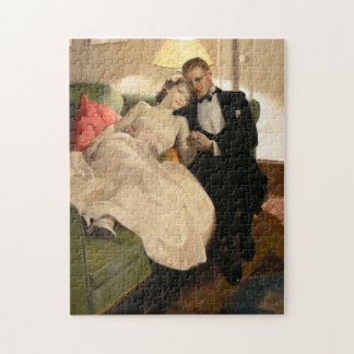 Charles Edward Chambers: Romantic Couple Jigsaw Puzzle