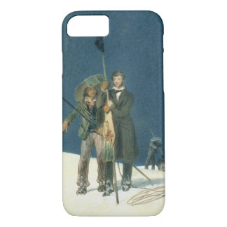 Charles Fellows with William Hawes, Plants a Baton iPhone 8/7 Case