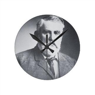 Charles Goodnight (b/w photo) Round Clock