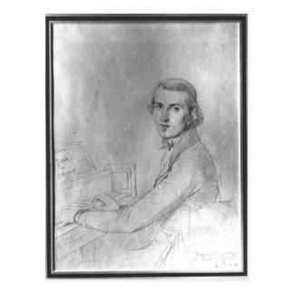 Charles Gounod  1841 Postcard
