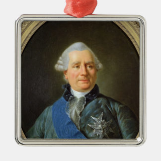 Charles Gravier Count of Vergennes Christmas Ornament