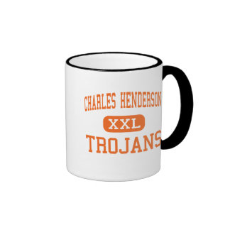 Charles Henderson - Trojans - High - Troy Alabama Coffee Mugs