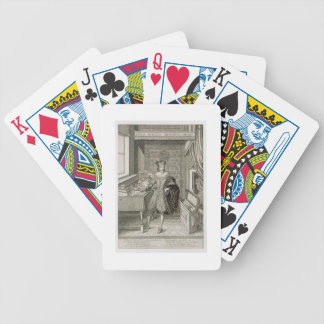 Charles I (1600-49) (engraving) Bicycle Playing Cards