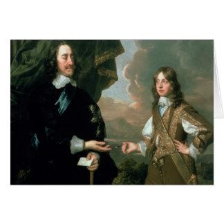 Charles I  and James, Duke of York , c.1647 Greeting Card