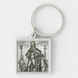 Charles I with his Children Key Ring