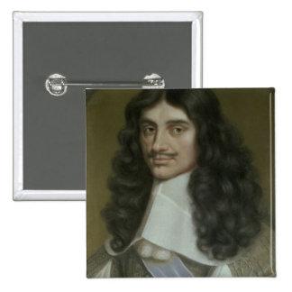 Charles II (1630-85) 15 Cm Square Badge