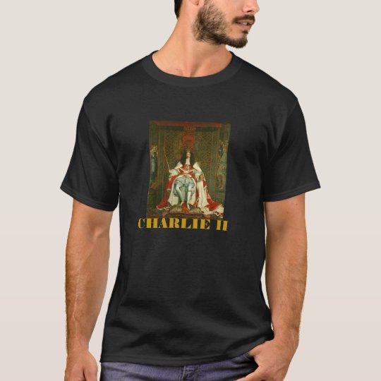 CHARLES II CORONATION ROBES T-Shirt