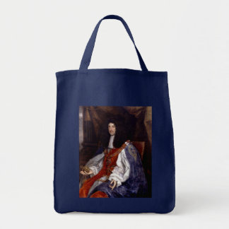 Charles II of Great Britain and Ireland Grocery Tote Bag