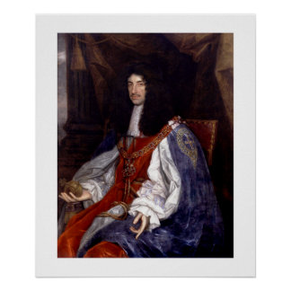 Charles II of Great Britain and Ireland Poster