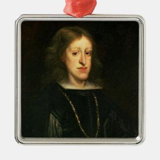 Charles II  of Spain Christmas Ornament