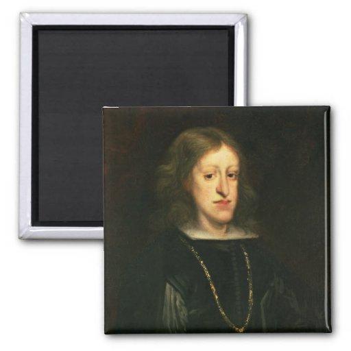 Charles II  of Spain Magnet