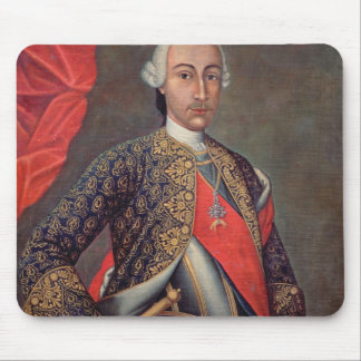 Charles III  in armour and wearing the Order Mouse Pad