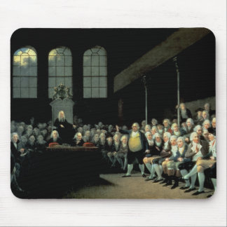 Charles James Fox  Addressing the House Mouse Pad