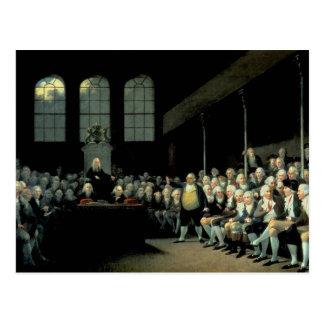 Charles James Fox  Addressing the House Postcard