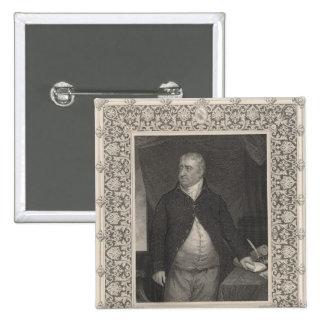 Charles James Fox 15 Cm Square Badge
