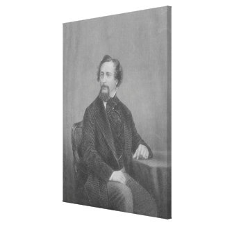 Charles John Huffam Dickens Canvas Print