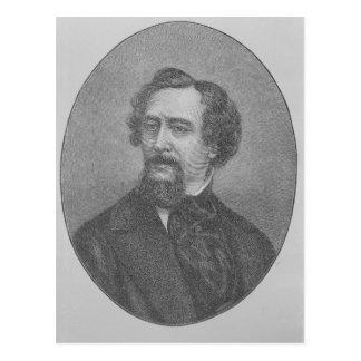 Charles John Huffam Dickens Postcard
