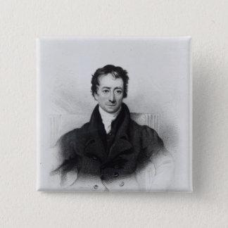 Charles Lamb 15 Cm Square Badge