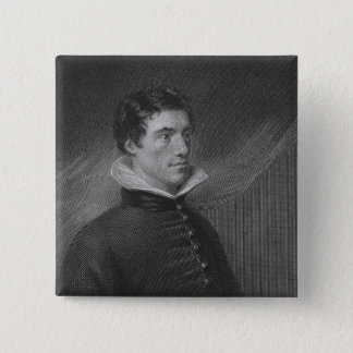 Charles Lamb in his thirtieth year 15 Cm Square Badge