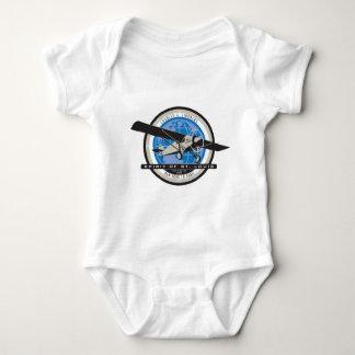 Charles Linberg Historic Flight Baby Bodysuit