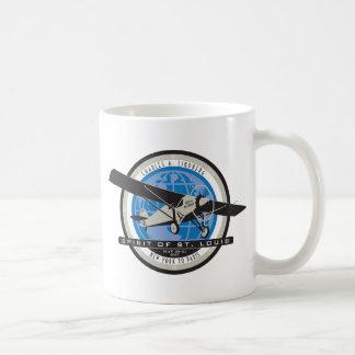 Charles Linberg Historic Flight Basic White Mug