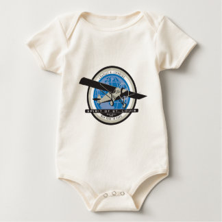 Charles Linberg Historic Flight Romper
