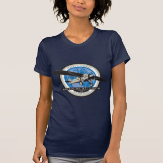 Charles Linberg Historic Flight T-Shirt