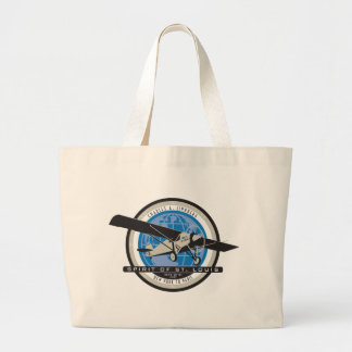 Charles Linberg Historic Flight Tote Bags