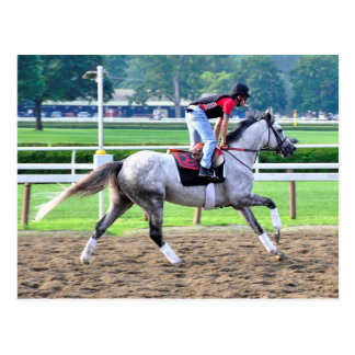 Charles LoPresti Workouts at Saratoga Post Cards