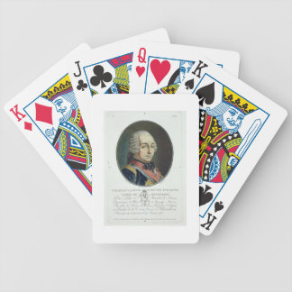 Charles-Louis-Auguste Fouquet (1684-1761) from 'Po Bicycle Playing Cards
