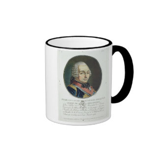 Charles-Louis-Auguste Fouquet (1684-1761) from 'Po Ringer Mug