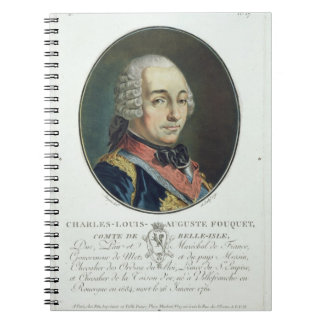 Charles-Louis-Auguste Fouquet (1684-1761) from 'Po Notebook