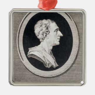 Charles Louis de Secondat, Baron de Montesquieu Christmas Ornament