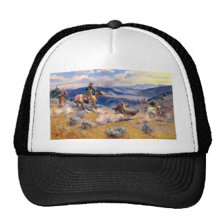 Charles M. Russell's Loops and Swift Horses (1916) Hat