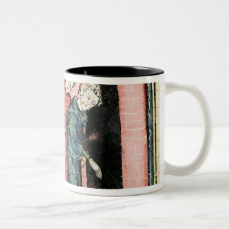 Charles Martel looks after punishment Two-Tone Coffee Mug