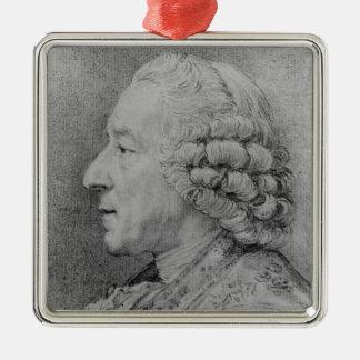Charles-Nicolas Cochin, 1767 Christmas Ornament