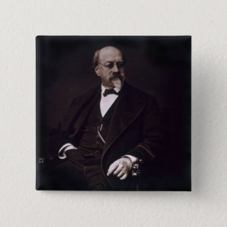 Charles Philippe Robin (1821-85), from 'Galerie Co 15 Cm Square Badge