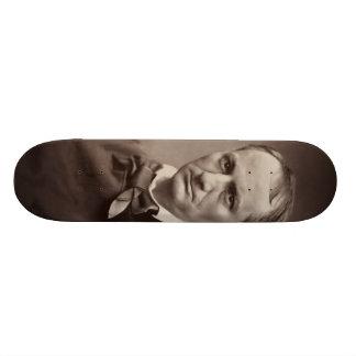 Charles Pierre Baudelaire Portrait Étienne Carjat Skate Deck