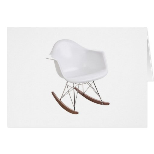 Charles & Ray Eames Shell Eiffel Rocking Chair Greeting Cards