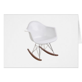 Charles & Ray Eames Shell Eiffel Rocking Chair Greeting Card
