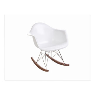Charles & Ray Eames Shell Eiffel Rocking Chair Postcard