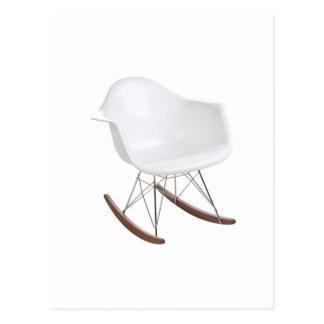 Charles & Ray Eames Shell Eiffel Rocking Chair Postcard